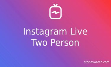 How to Instagram Live Two Person