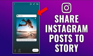 I Can\'t Share Posts on Instagram Story
